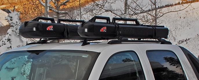 Sportube roof rack straps for Fishing rod roof rack tube